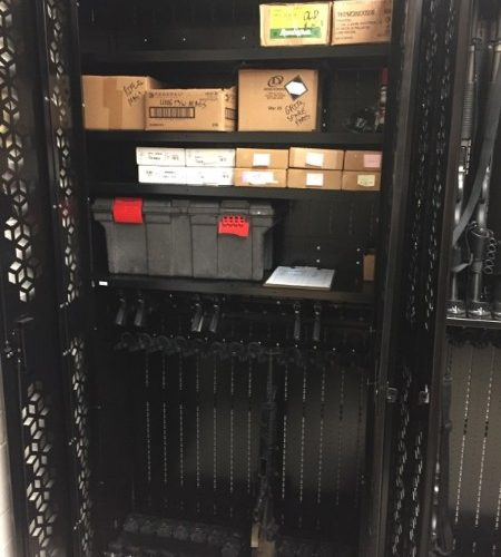 Ammo Storage Shelves