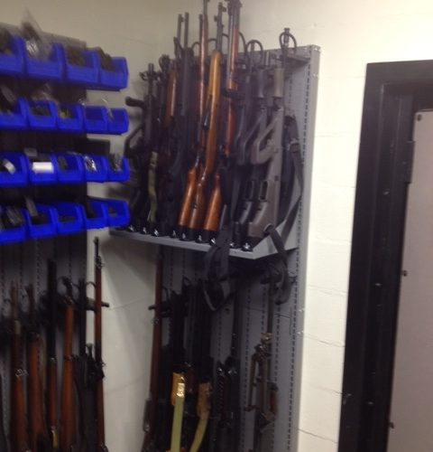 Armory Shelving System