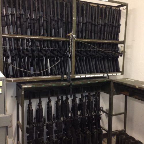 Consolidated Arms Room Weapon Racks