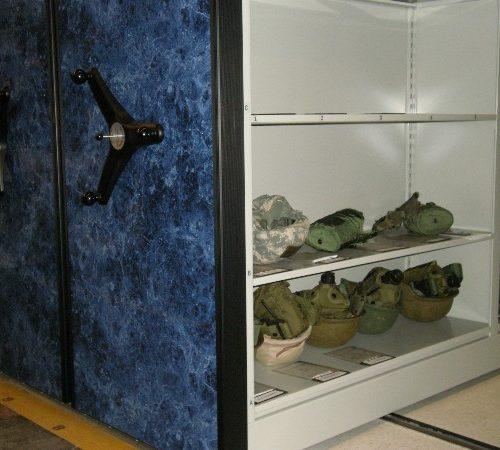 Helmet Shelving Storage System