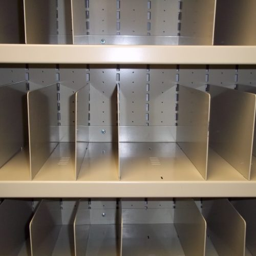 Weapon Rack Shelf Dividers