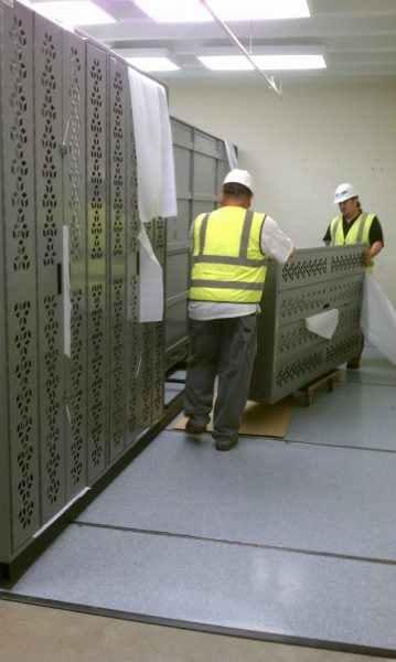 Weapon Rack Construction installation