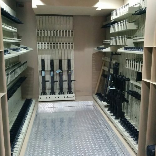 Combat Weapon Shelving Portable Armory - Weapon Storage