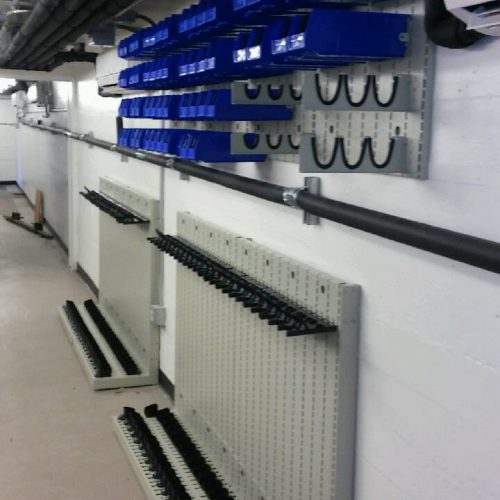 Weapon Shelving and Weapon Panels