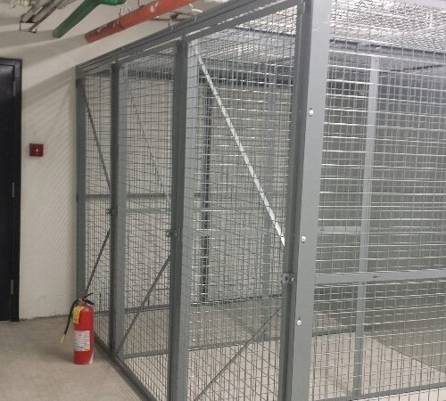 Pad-Lockable Armory Cages - Secure Weapon Storage