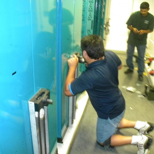 High Density Weapon Storage Install - Weapon System Installation
