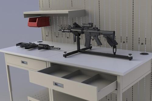 Weapon Vise - Weapon Maintenance - Weapon Storage