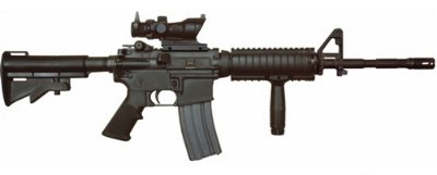 M4 Weapon Storage - M4 Assault Rifle - Modular Weapon System