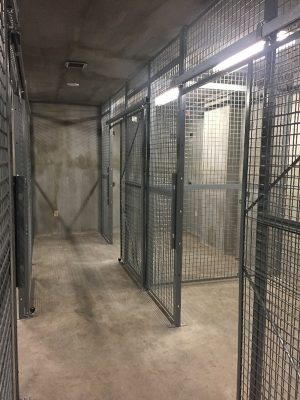 Combat Weapon Storage Security Cages - Wire Partitions - Secure Storage Cages