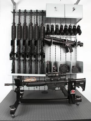 Combat Weapon Storage - Tactical Weapon Vise - Gun Vise - Gun Vises