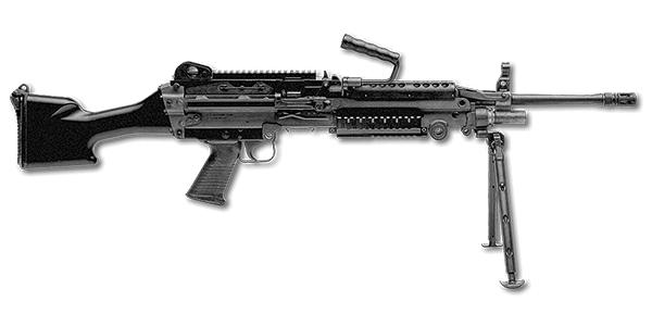 M249 - Machine Gun Storage - Automatic Weapon Storage