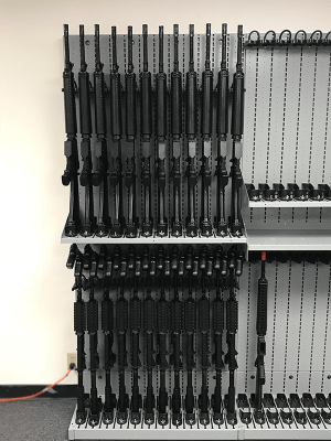 Weapon Shelving - Combat Weapon Storage