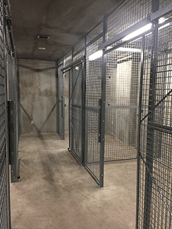 Security Cages - Combat Weapon Storage