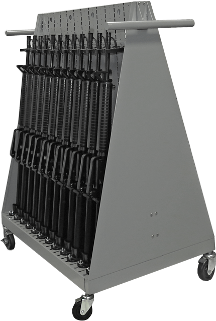 Combat Weapon Cart - Open - Side