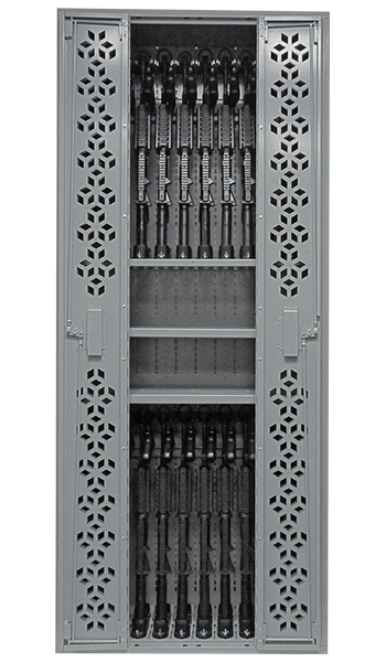 85 inch Combat Weapon Rack