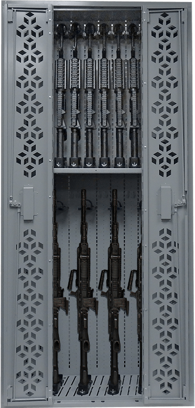 Combat Machine Guns Weapon Rack