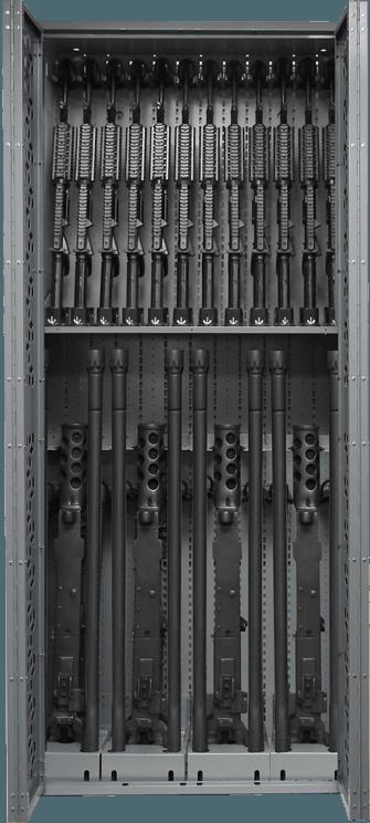 Combat Weapon Rack - 85 - Inch - M2