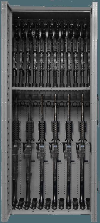 Combat Weapon Rack - 85 Inch - M240 & M4