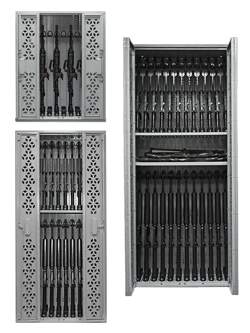 Combat Weapon Rack Storage
