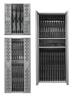 Combat Weapon Rack Storage