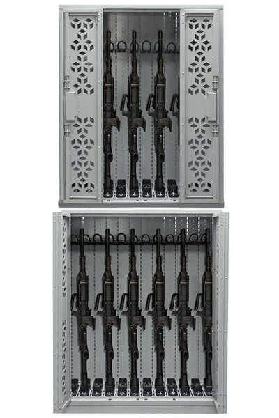 Combat Weapon Racks - 44in M249 SAW - Stacked