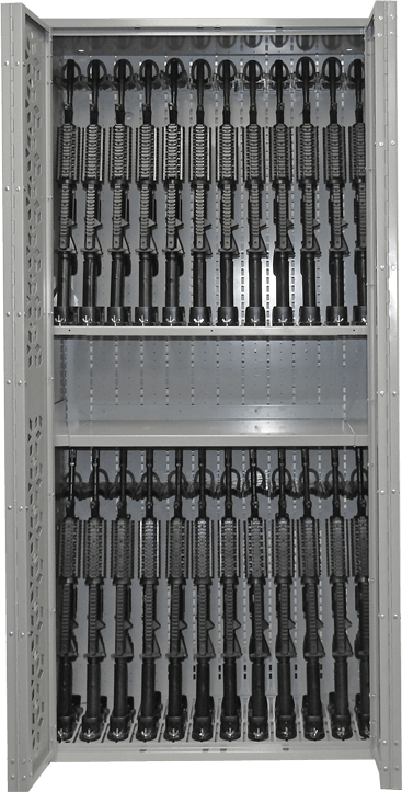 Combat Weapon rack - 76 inch - M4 Storage