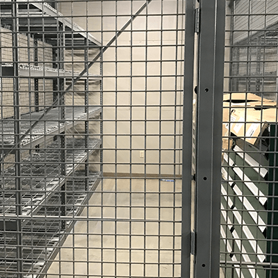 Weapon Storage Cages