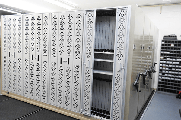Mobile Arms Rack Storage, Weapon Storage System