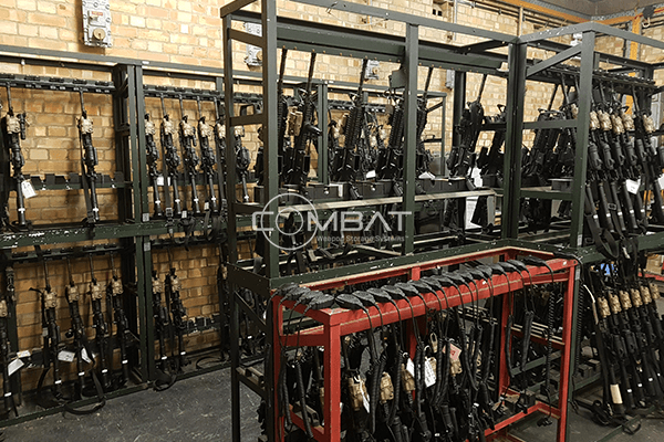 Old Armory, Old Weapon Racks, Old Weapon Storage