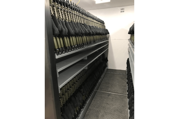 Armory Storage, Armory Design, Armory Layout