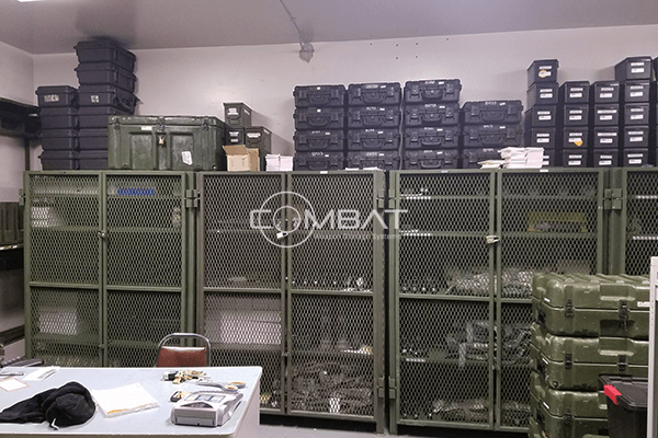 Armory Site Survey for existing arms rooms - weapon storage