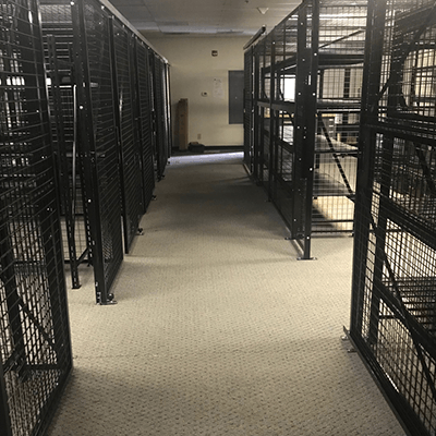 Armory Weapon Cages
