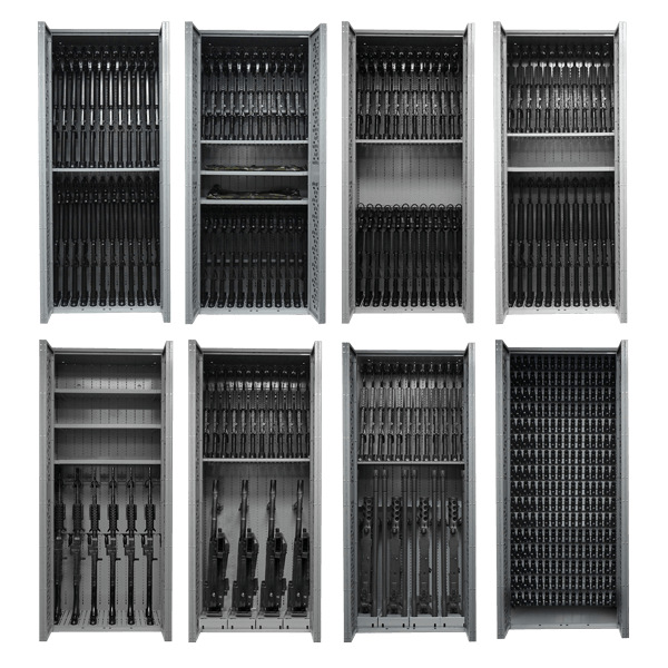 Height - 85 inch - Weapon Rack Configurations