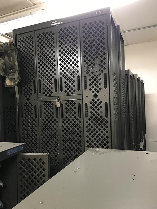 Combat Weapon Storage - Replacing Legacy Space Saver Weapon Racks