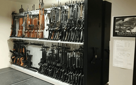 Firearm Evidence Room Storage