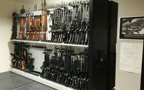 Firearm Evidence Room Storage