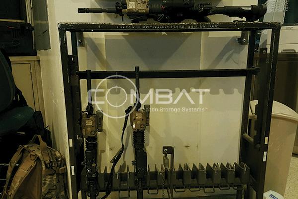 Old Military Weapon Racks