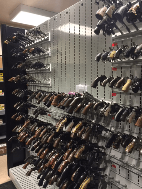 Evidence Room Weapon Storage - Law Enforcement