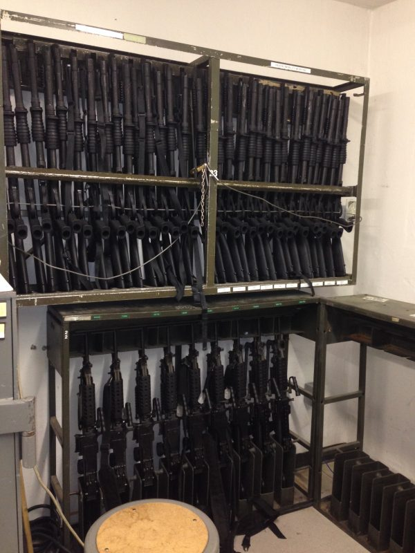 Consolidated Arms Room Weapon Racks - Military Weapon Storage