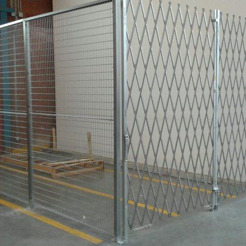 Security Cage Law Enforcement