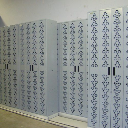Lateral Mobile Storage Weapon Racks