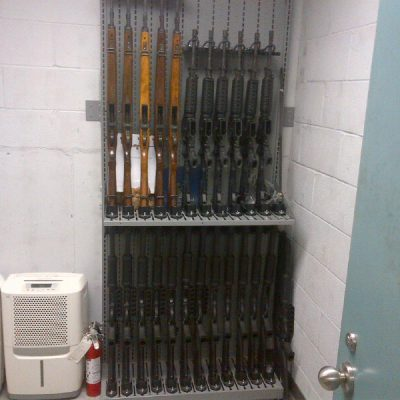 Combat Weapon Shelving - Weapon Storage