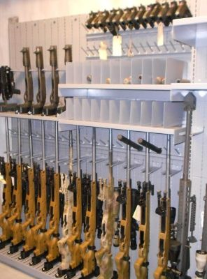 special forces group weapon shelving