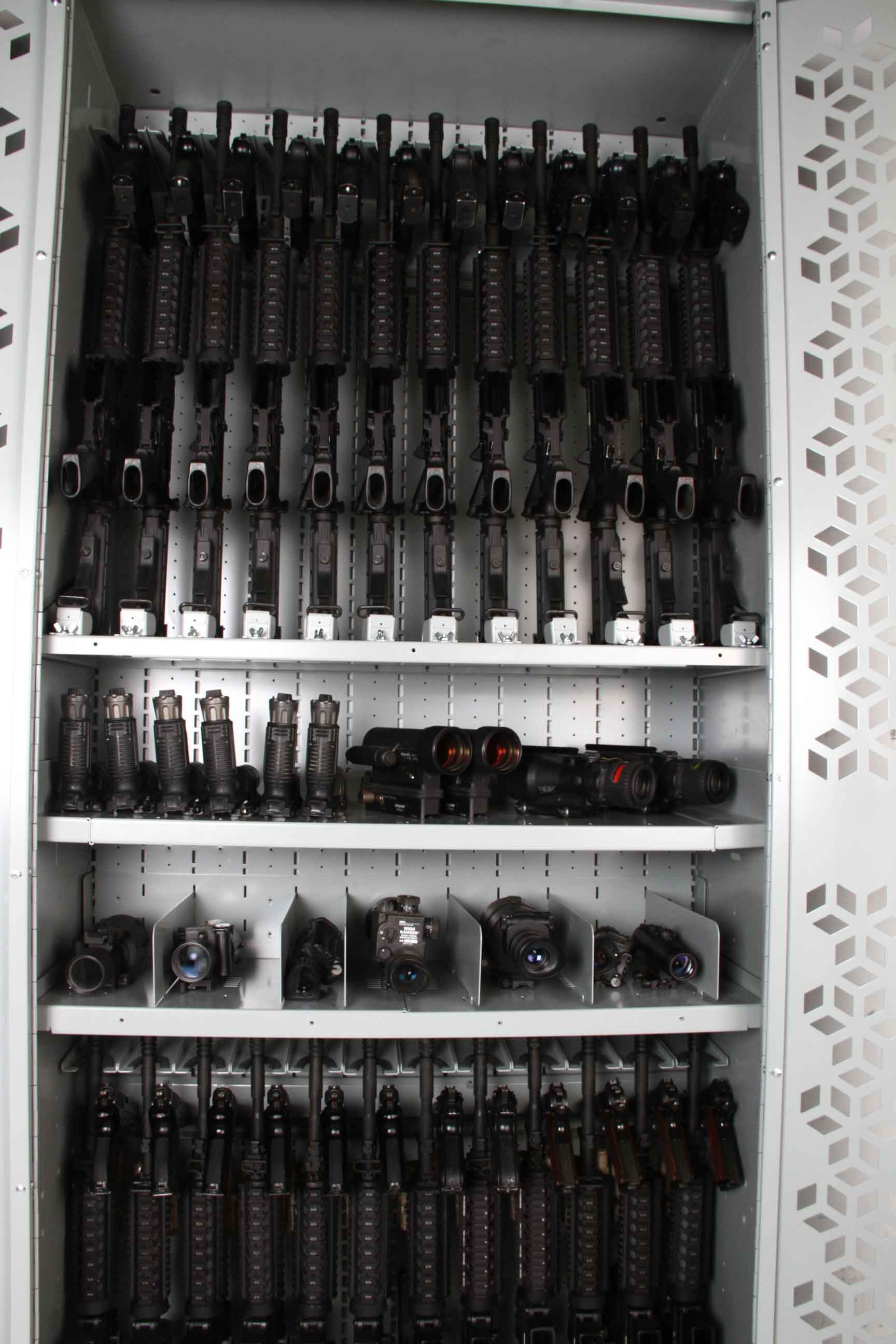 NVG Storage Shelves - Weapon Accessory Storage - Weapon Component Storage