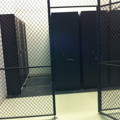 Woven Wire Armory Cage