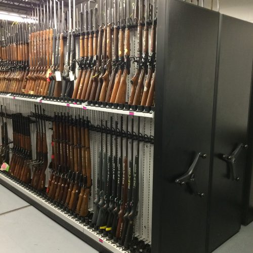 High Density Weapon Shelving