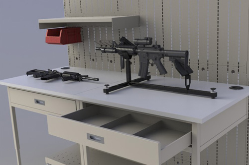 Weapon Vise - Weapon Maintenance - Weapon Storage