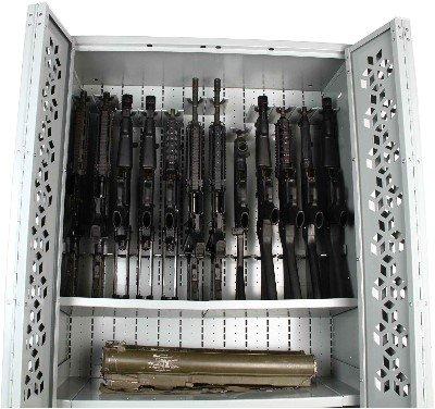 MP5 Weapon Rack - Submachine Gun Storage - Heckler & Koch MP5