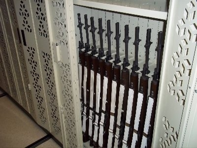 M14 Weapon Rack - Rifle Storage Units - Secure Rifle Storage