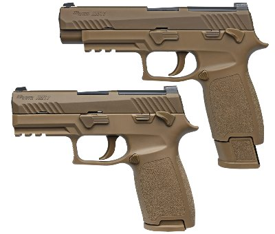 M17 P320 Pistol Weapon Storage - Semi-Automatic Pistol Storage